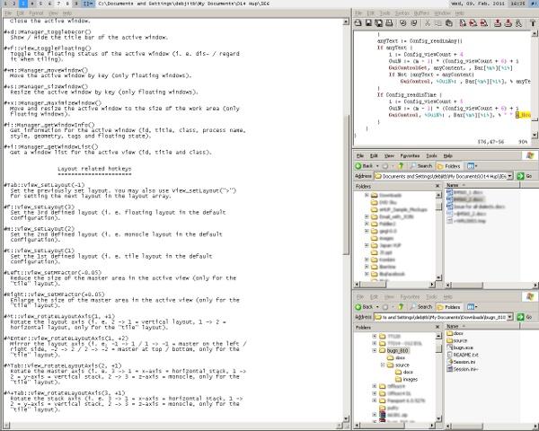 bug n - tiling window manager